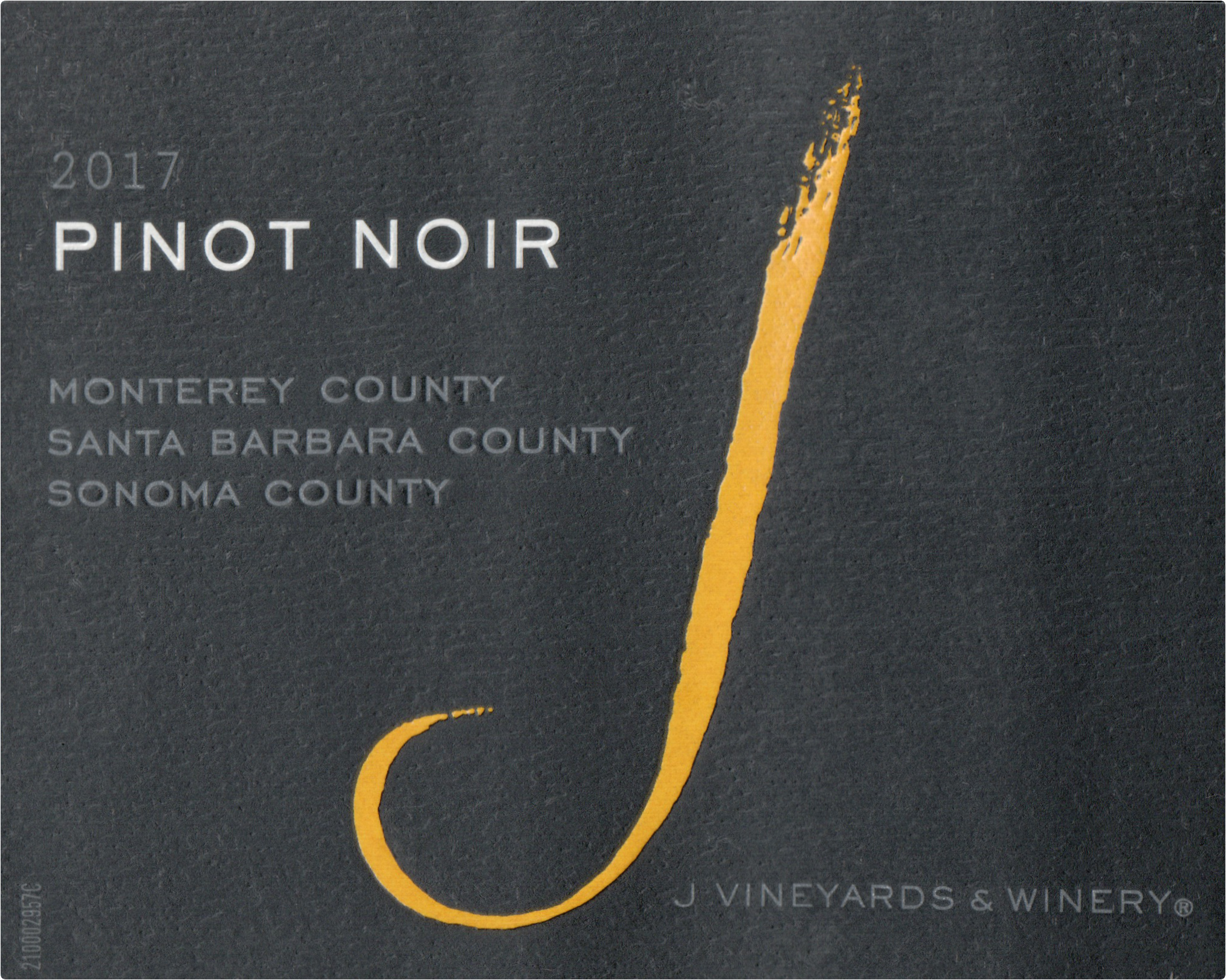 J. Vineyards Pinot Noir Multi Ava 2017