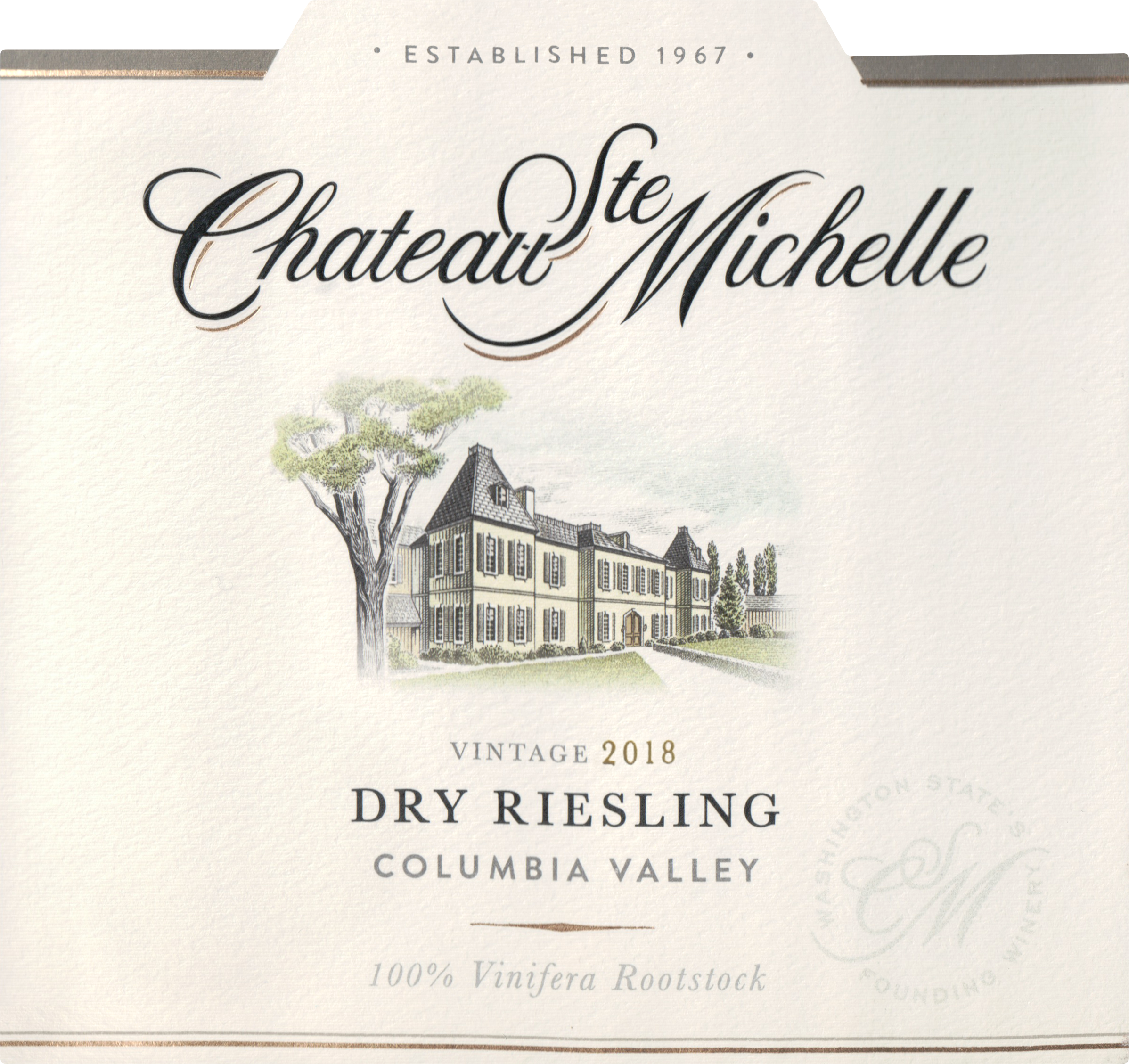 Chateau St. Michelle Dry Riesling 2018