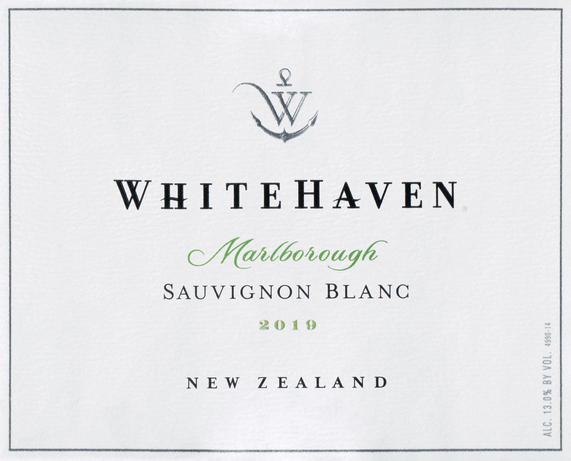 Whitehaven Sauvignon Blanc 2019