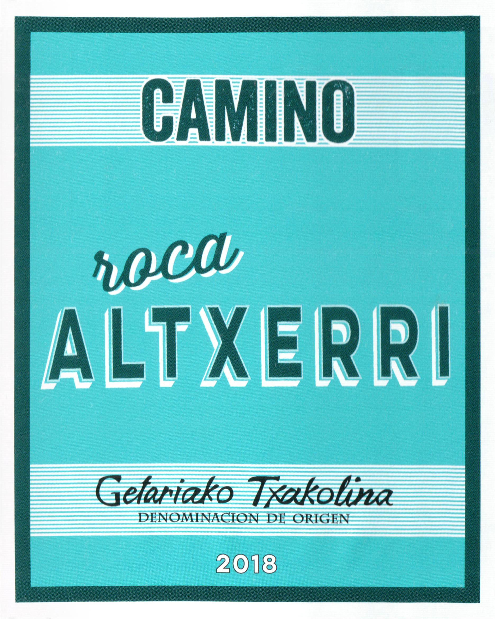 Camino Roca Altxerri Txakolina 2018