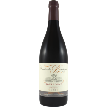Bottle shot for 2016 Beauregard Bourgogne Rouge