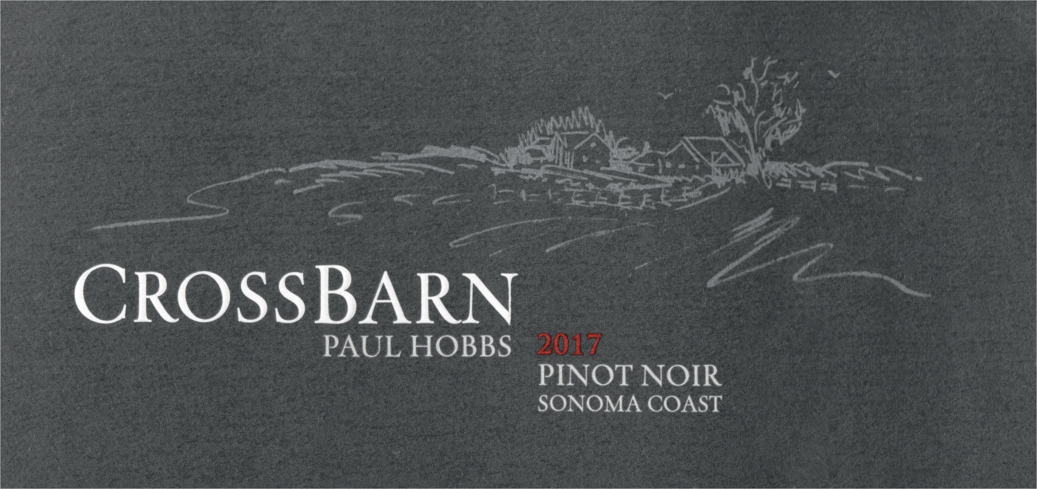 Crossbarn Pinot Noir 2017