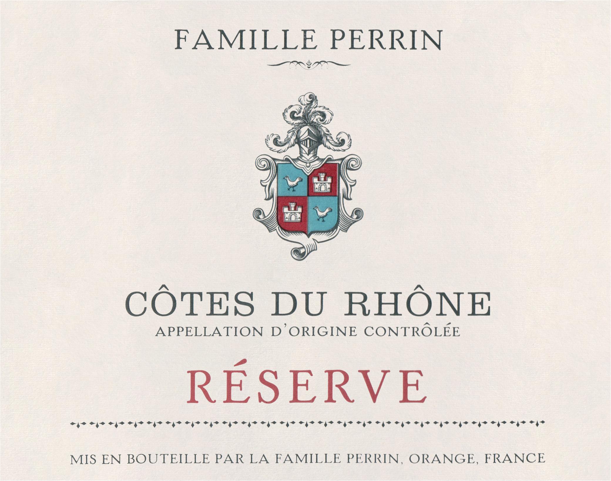 Famille Perrin Cotes Du Rhone Villages 2017