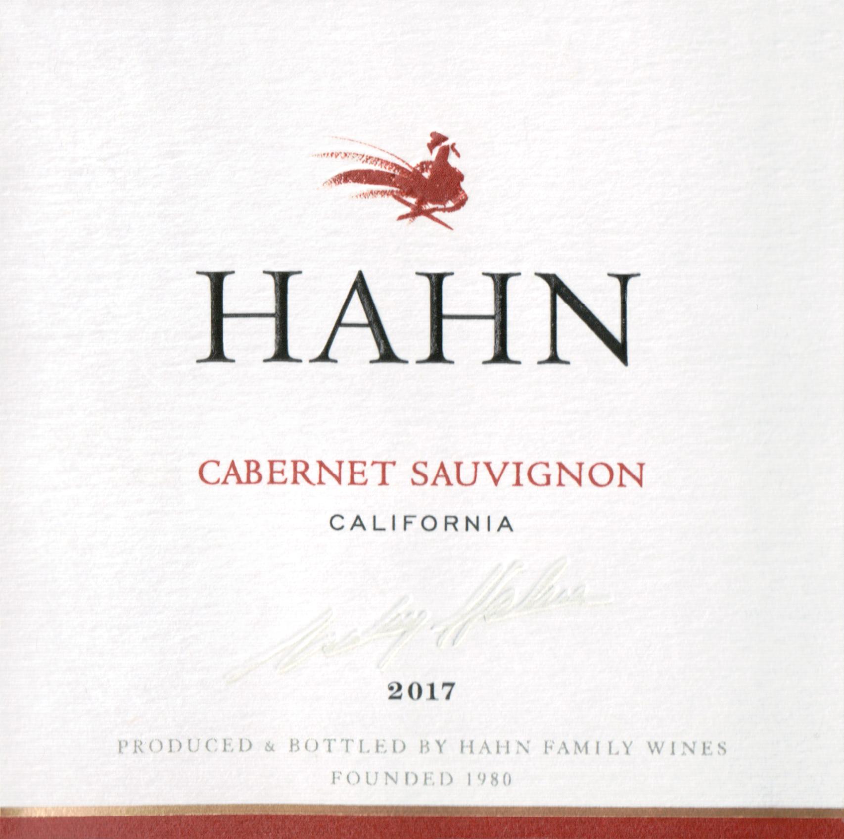 Hahn Cabernet Sauvignon 2017