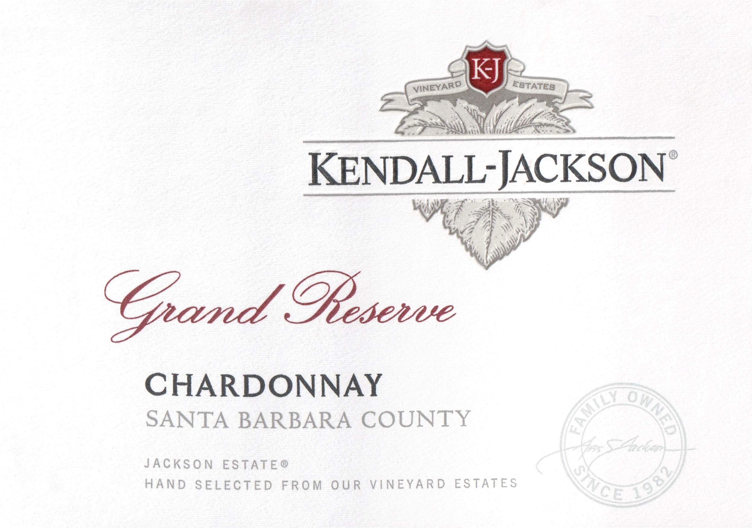 Kendall Jackson Grand Reserve Chardonnay 2018