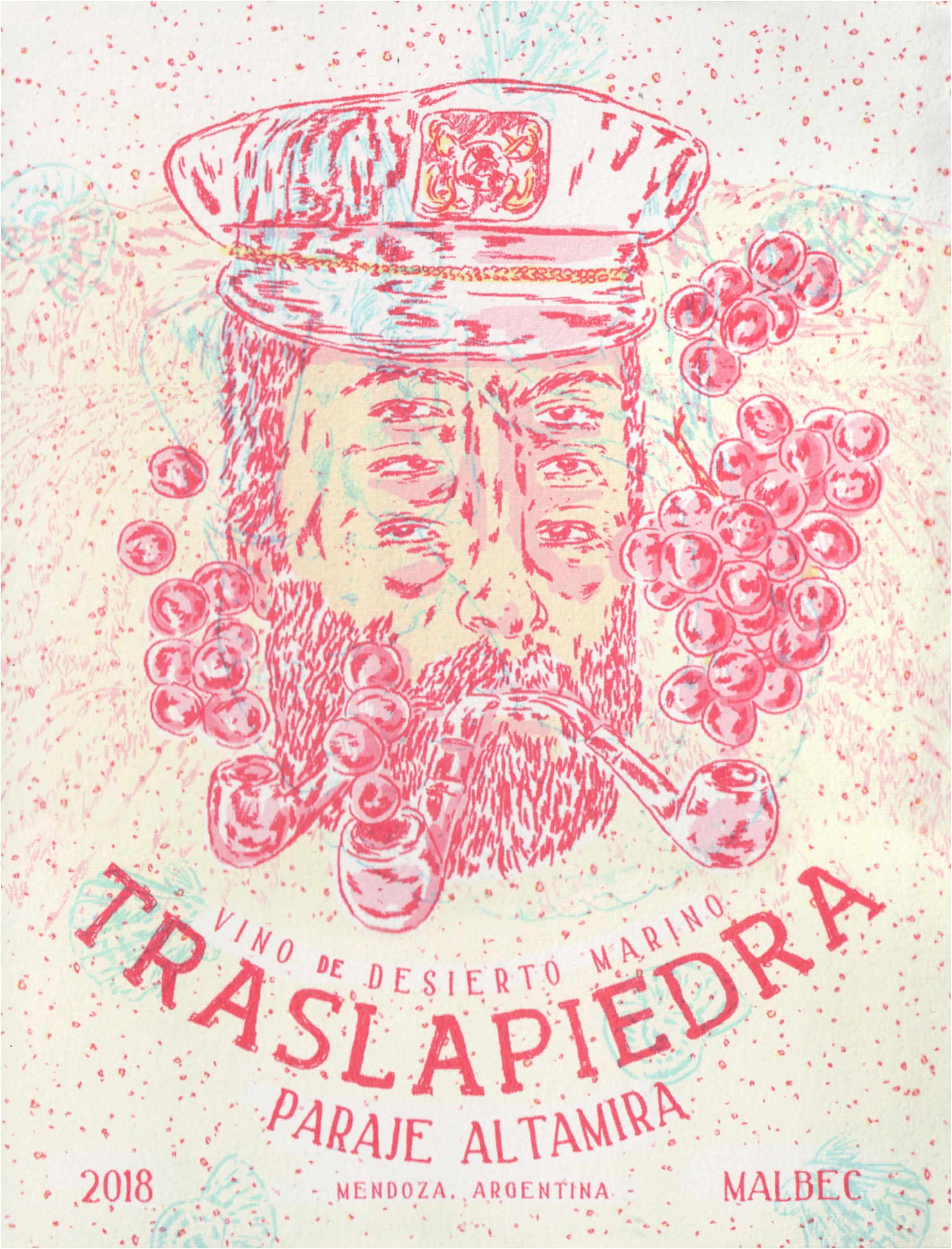 Traslapiedra Malbec Altamira 2018