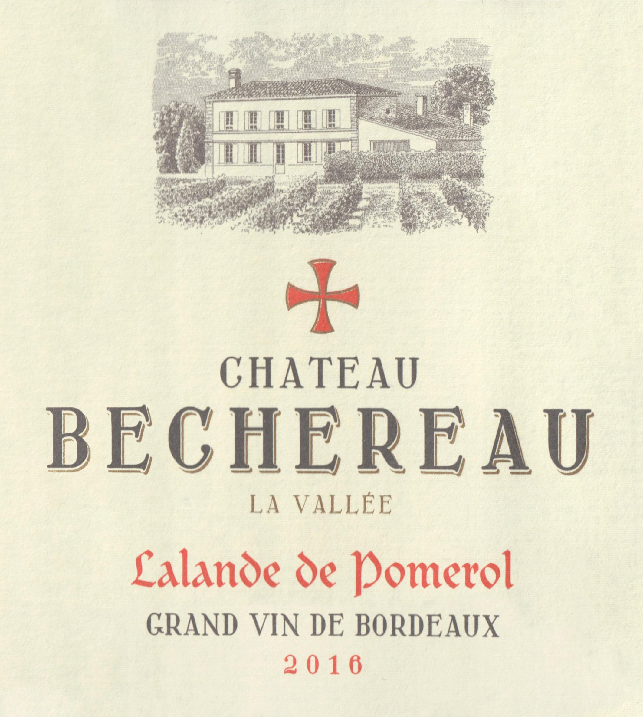 Chateau Bechereau Lalande De Pomerol 2016
