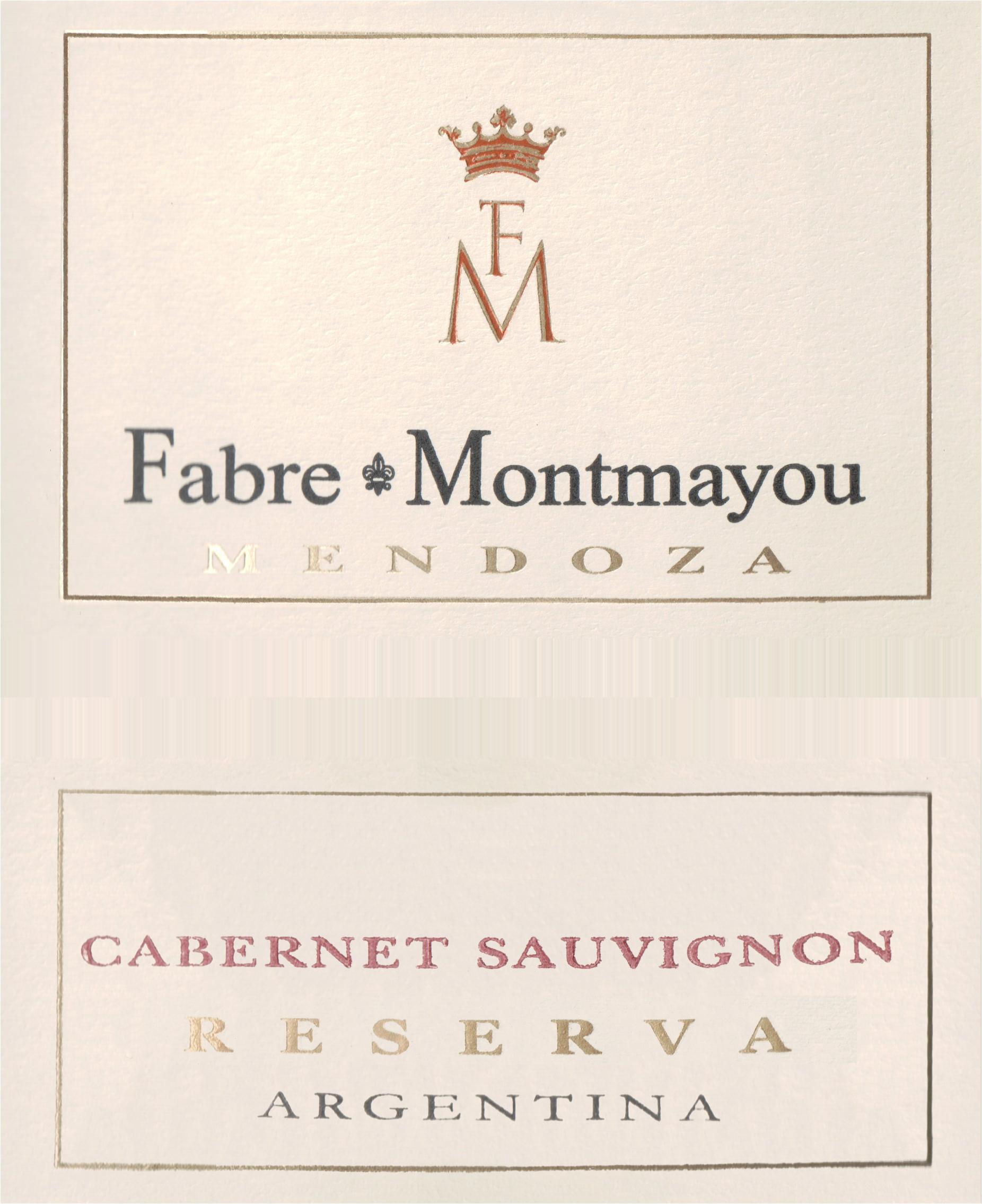 Fabre Montmayou Reserva Cabernet Sauvignon 2018