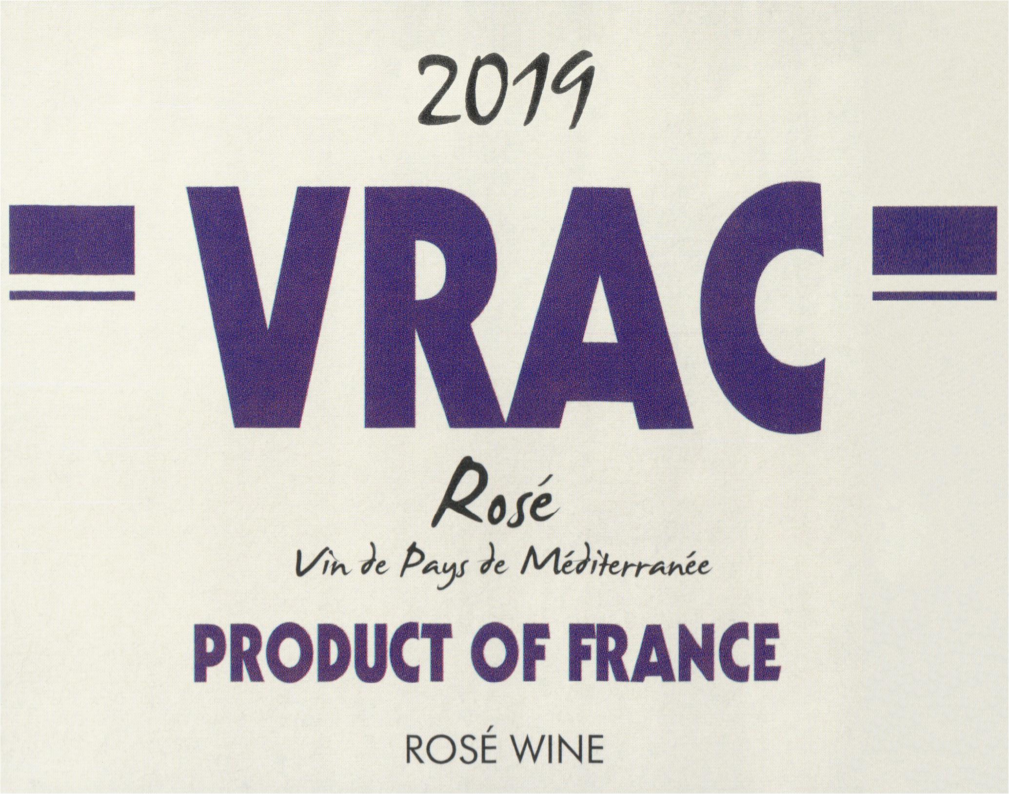 Vrac Rose 2019