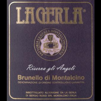 Label shot for 2011 La Gerla Brunello Di Montalcino Riserva Angeli