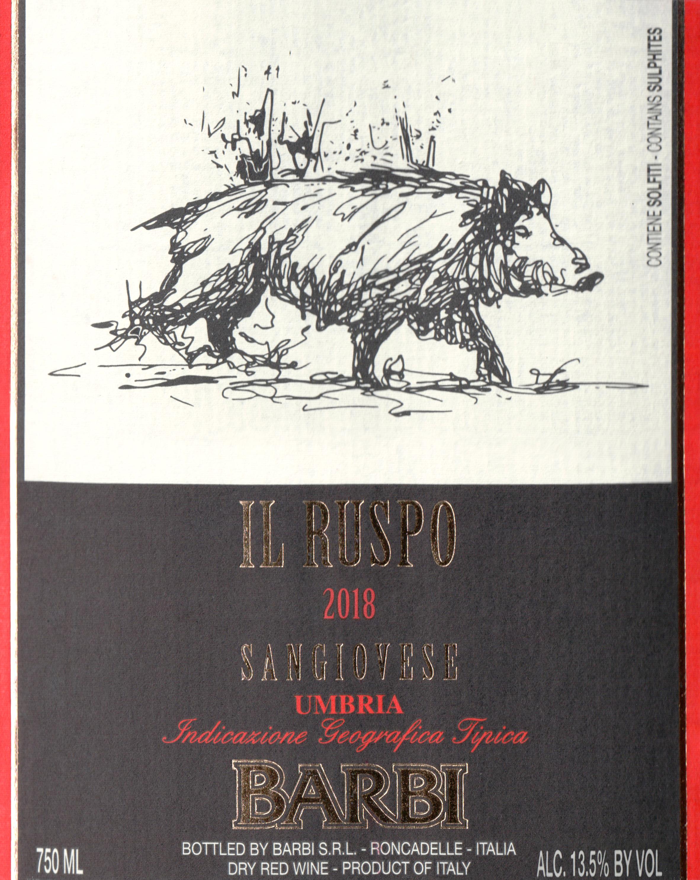 Barbi Il Ruspo Sangiovese 2018