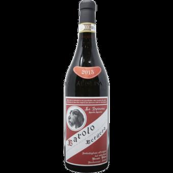 Bottle shot for 2013 La Spinona Bergera Barolo