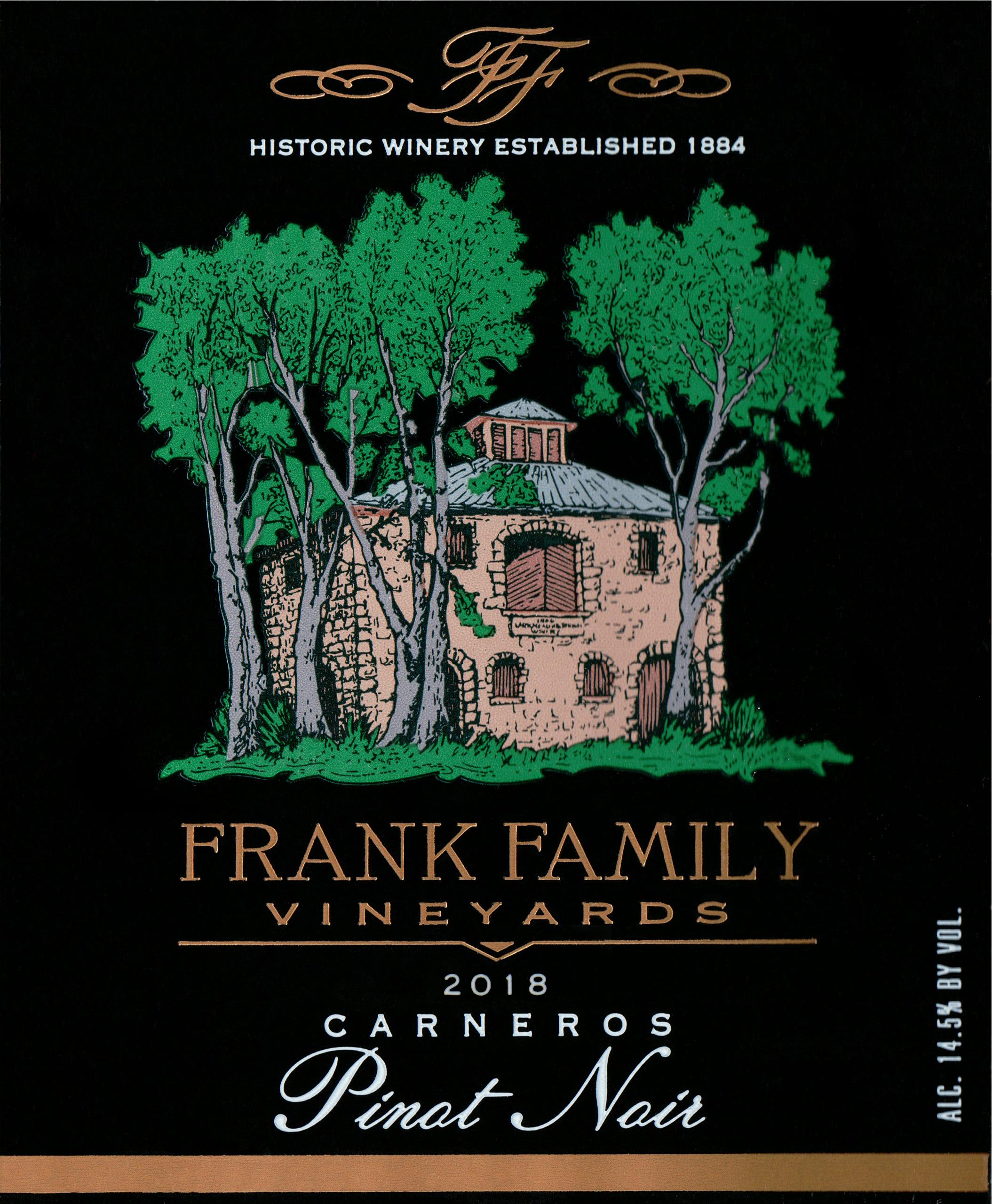 Frank Family Pinot Noir 2018