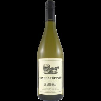 Bottle shot for 2017 Owen Roe Sharecroppers Chardonnay