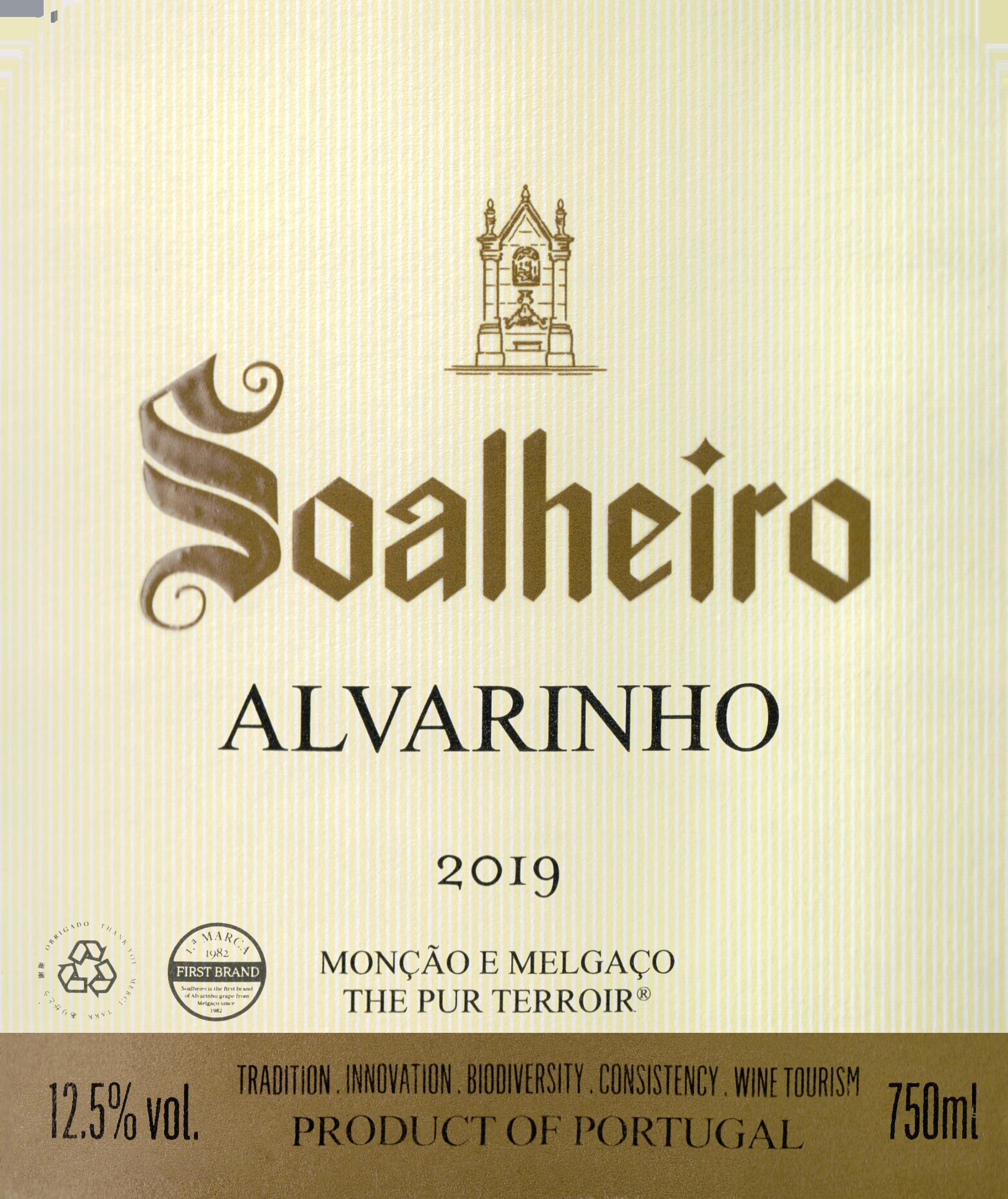 Quinta De Soalheiro Alvarinho 2019