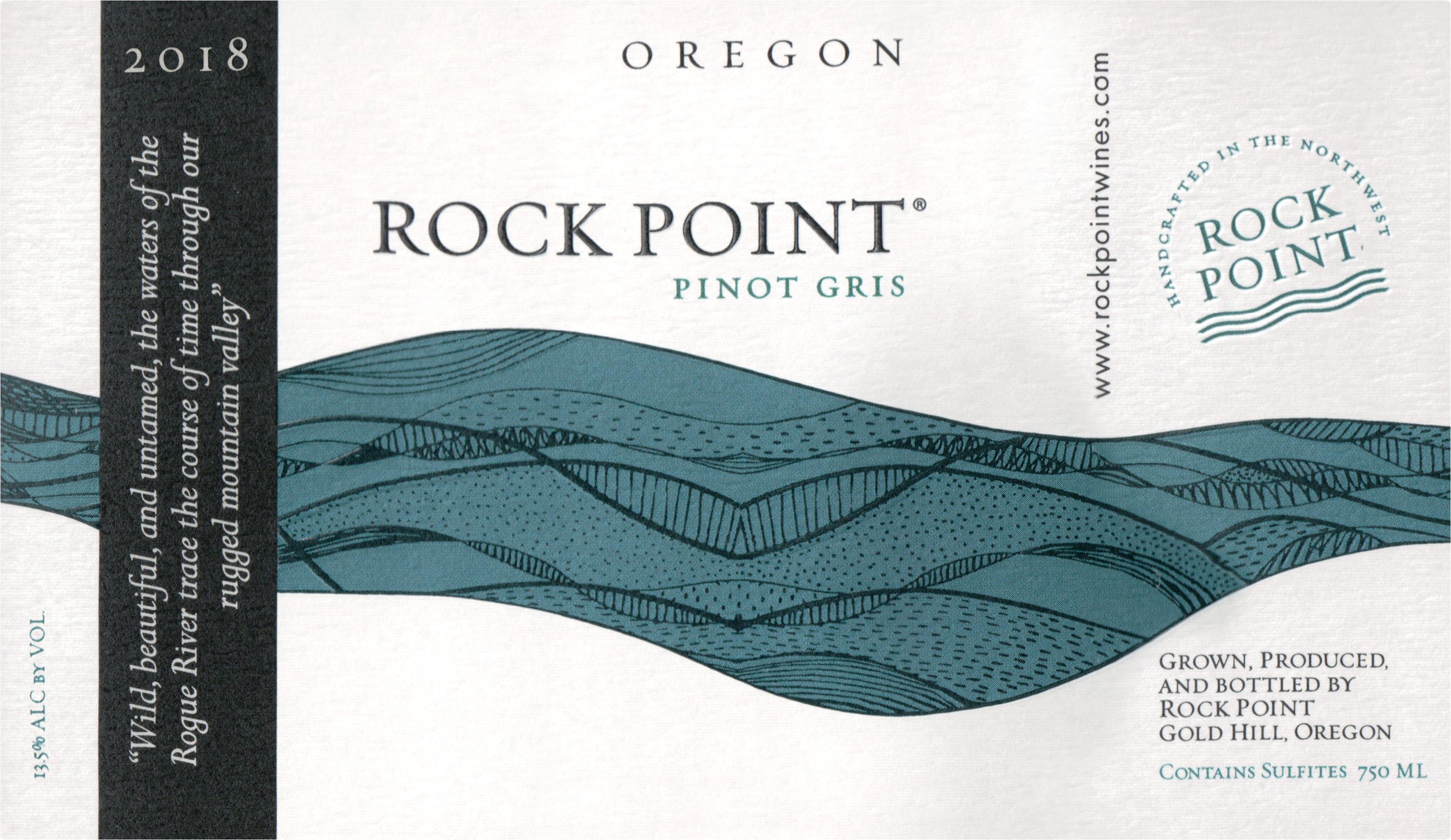 Rock Point Pinot Gris Rogue Valley 2018