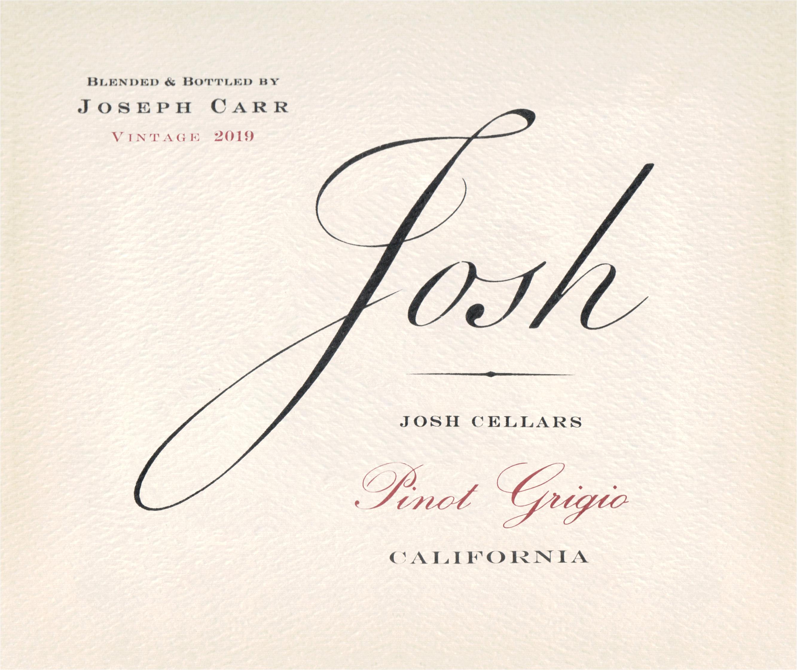 Josh Cellars Pinot Grigio 2019