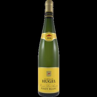Bottle shot for 2018 Hugel Pinot Blanc