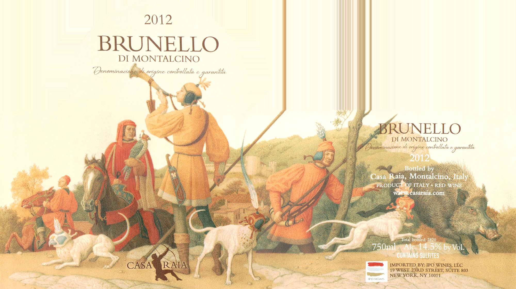 Casa Raia Brunello Di Montalcino 2012