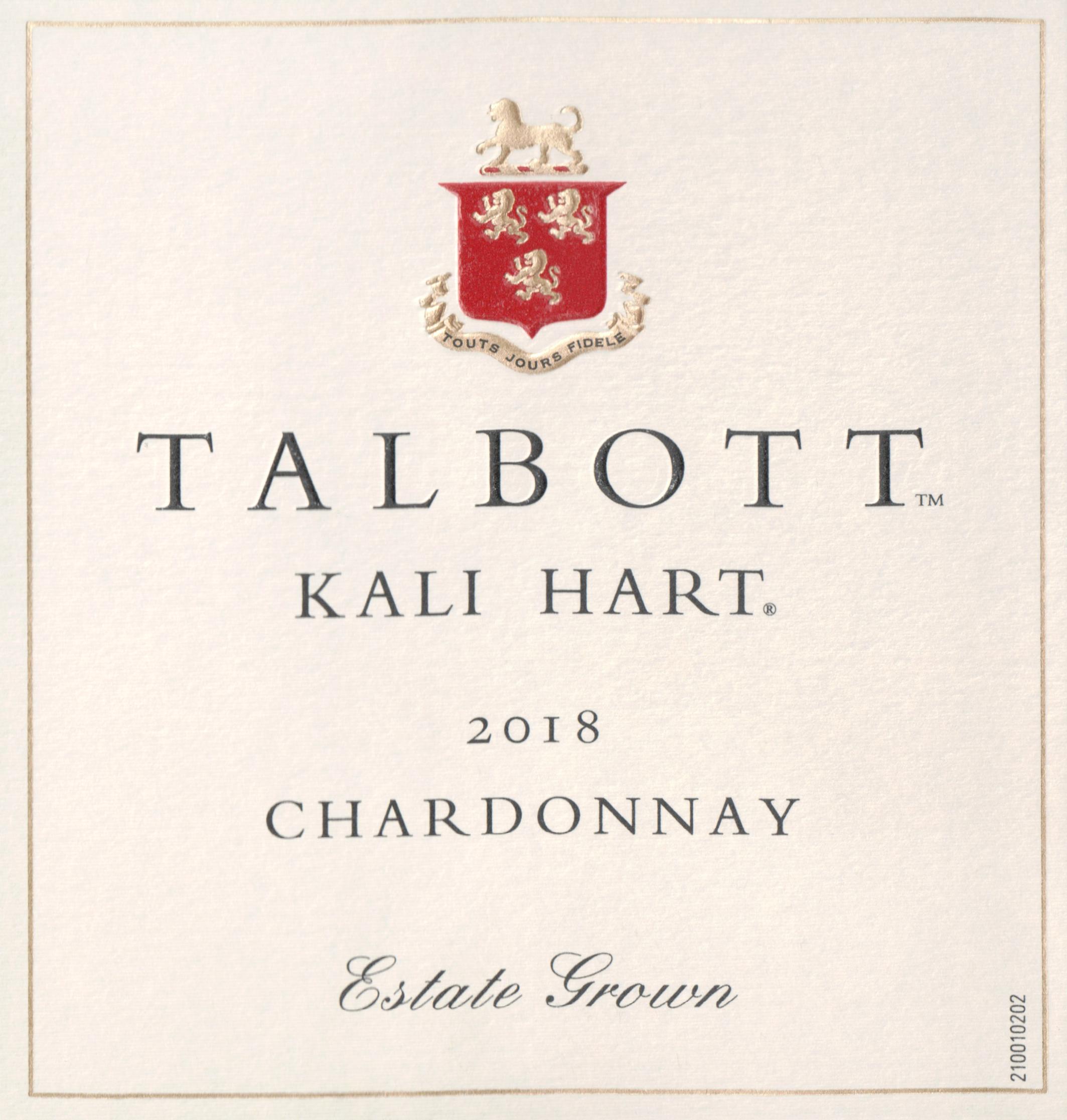 Kali Hart Chardonnay 2018