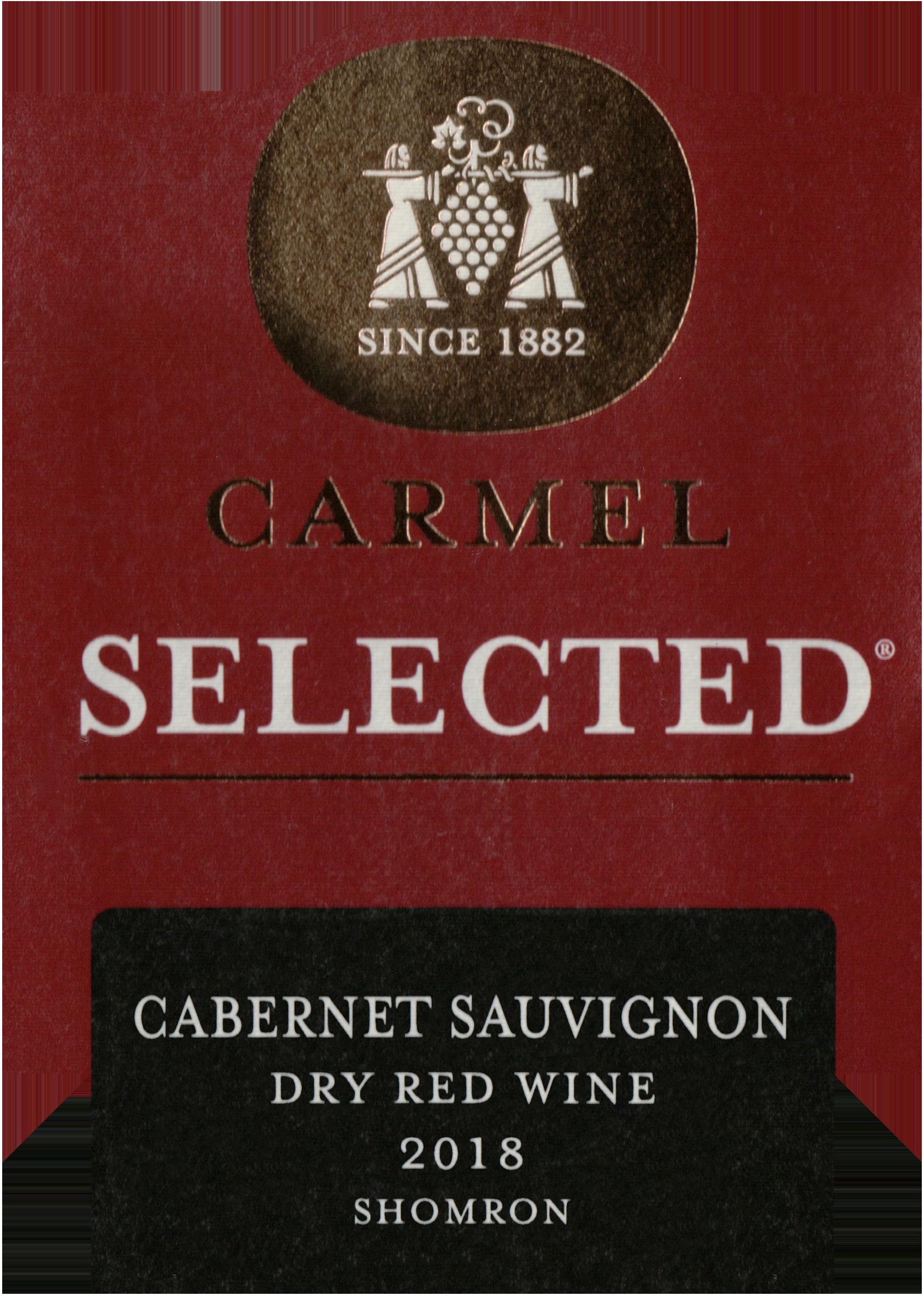 Carmel Selected Cabernet Sauvignon 2018