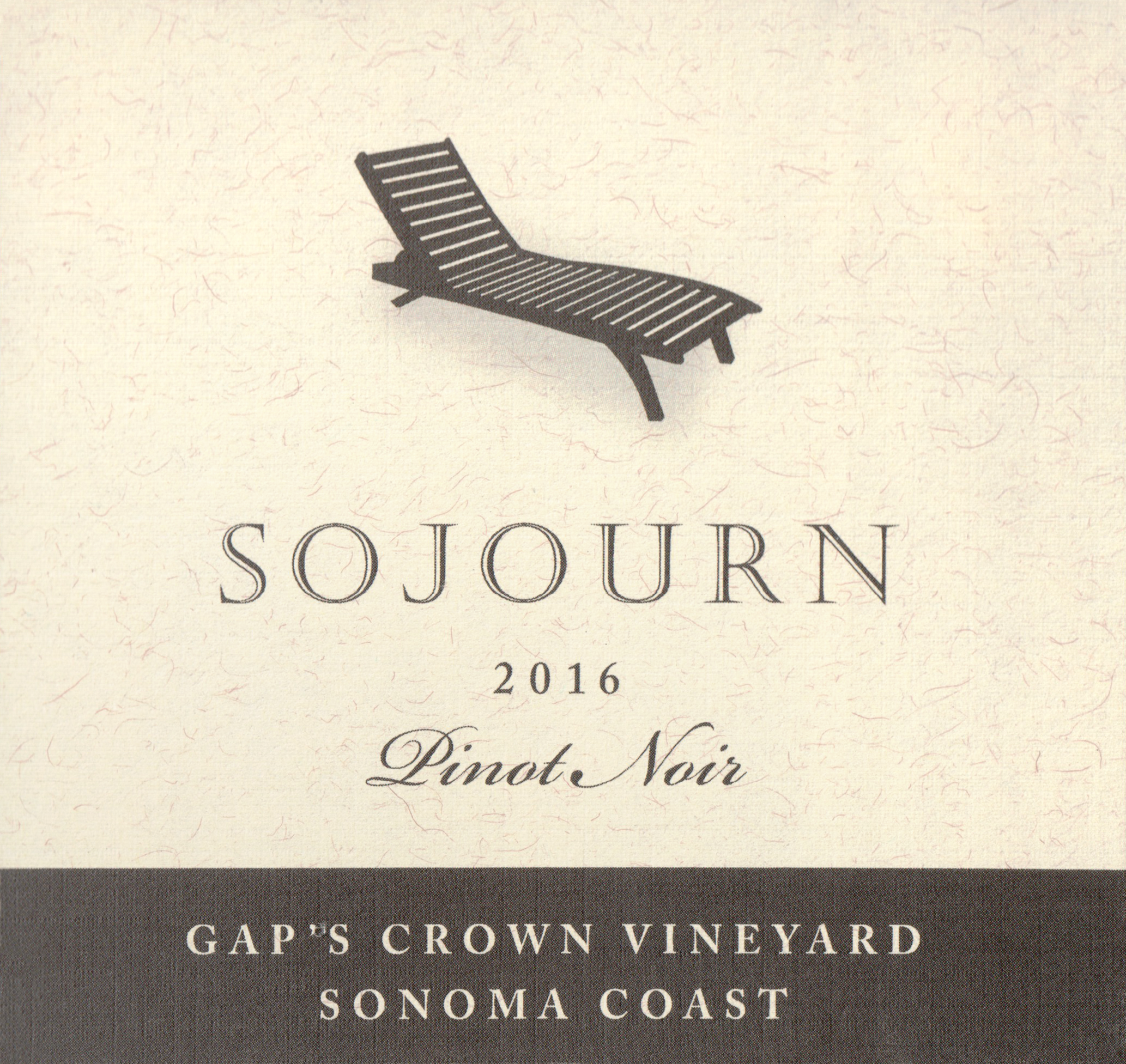 Sojourn Gaps Crown Pinot Noir 2016