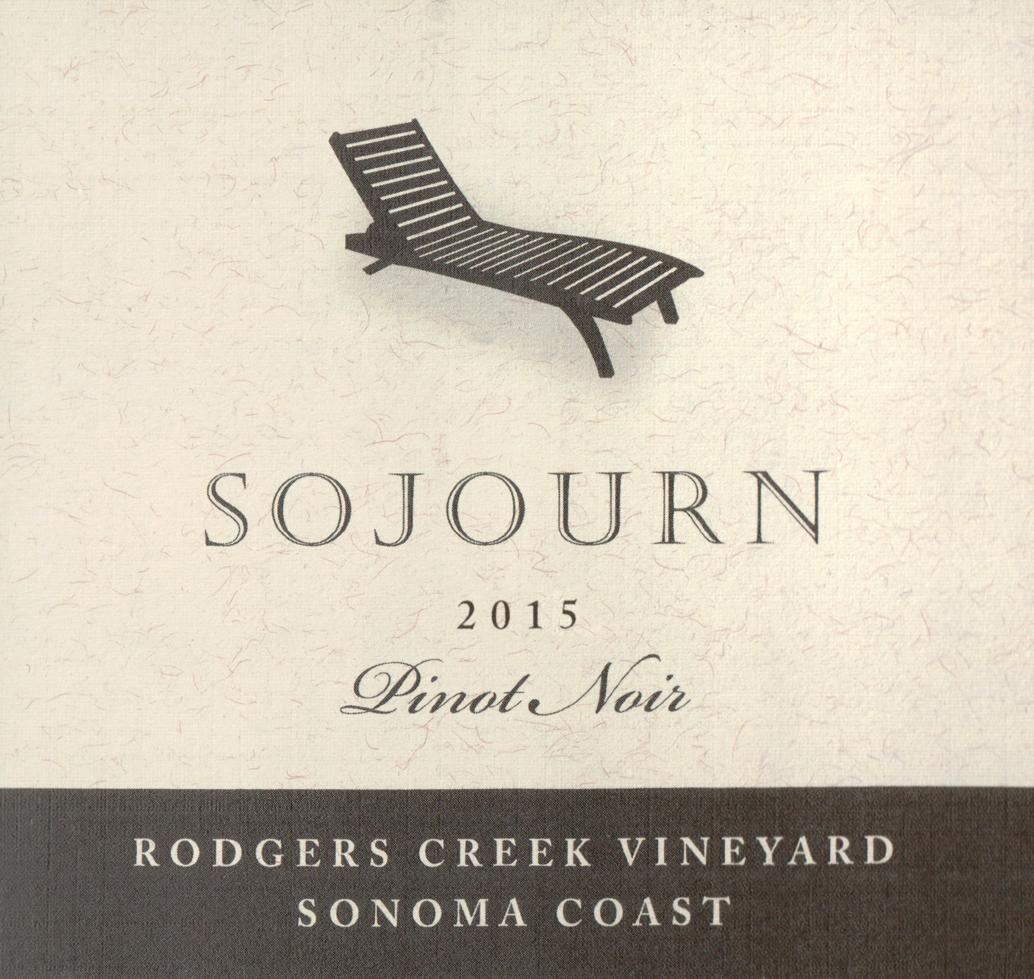 Sojourn Rodgers Creek Pinot Noir 2015