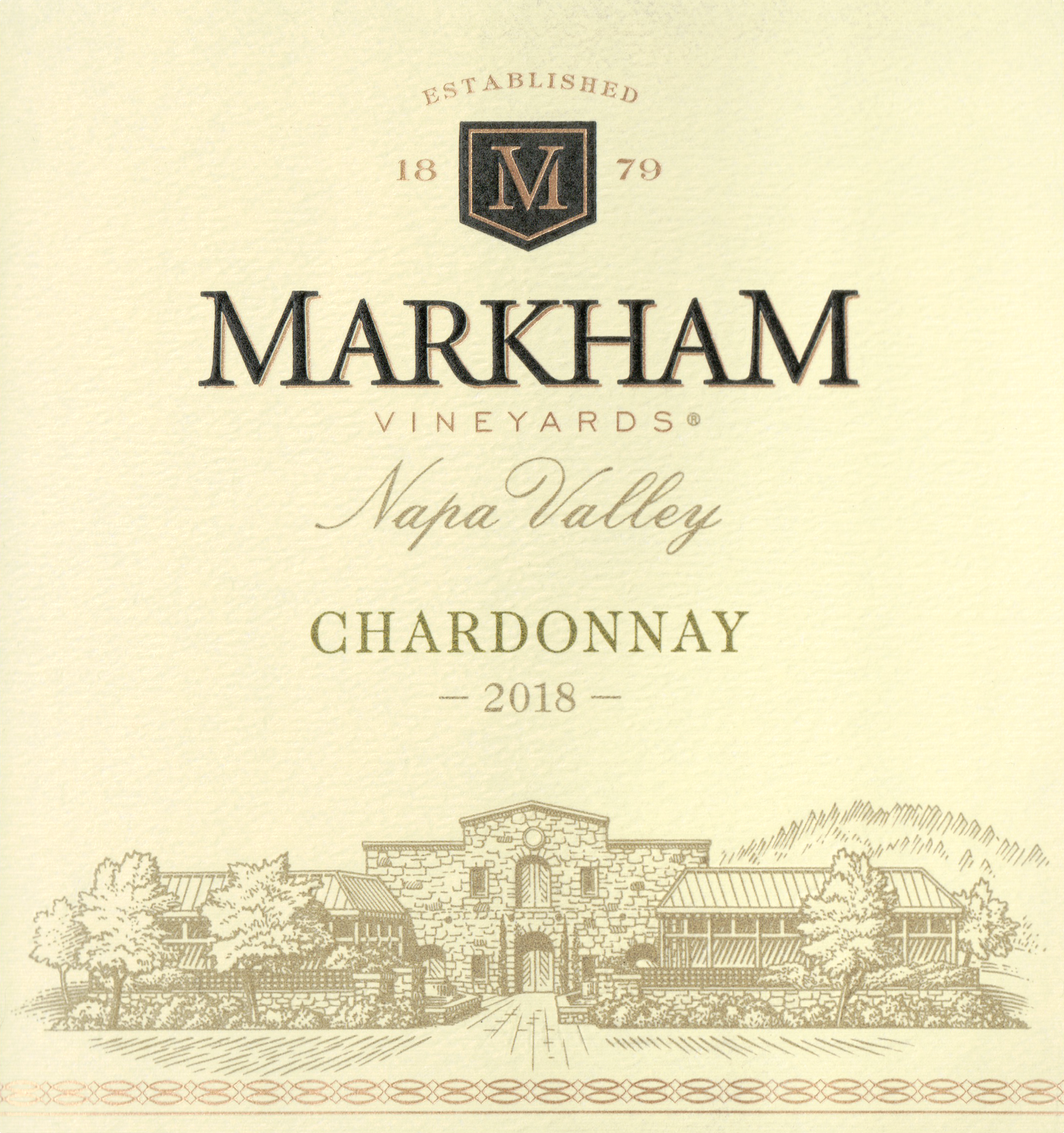Markham Vineyards Chardonnay 2018