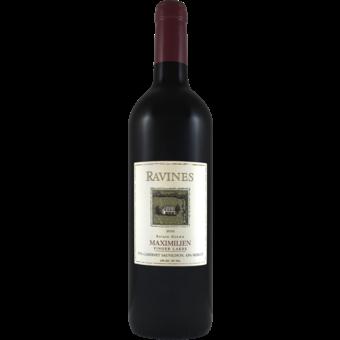 Bottle shot for 2016 Ravines Maximilien Red Blend