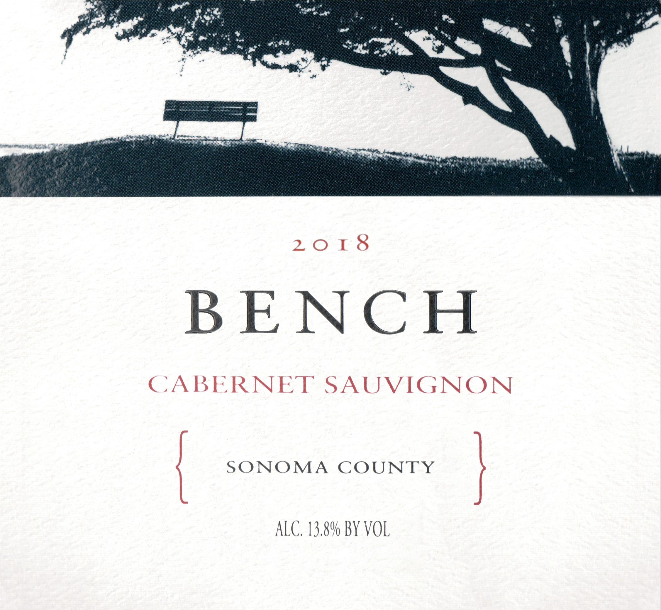Bench Sonoma Cabernet Sauvignon 2018