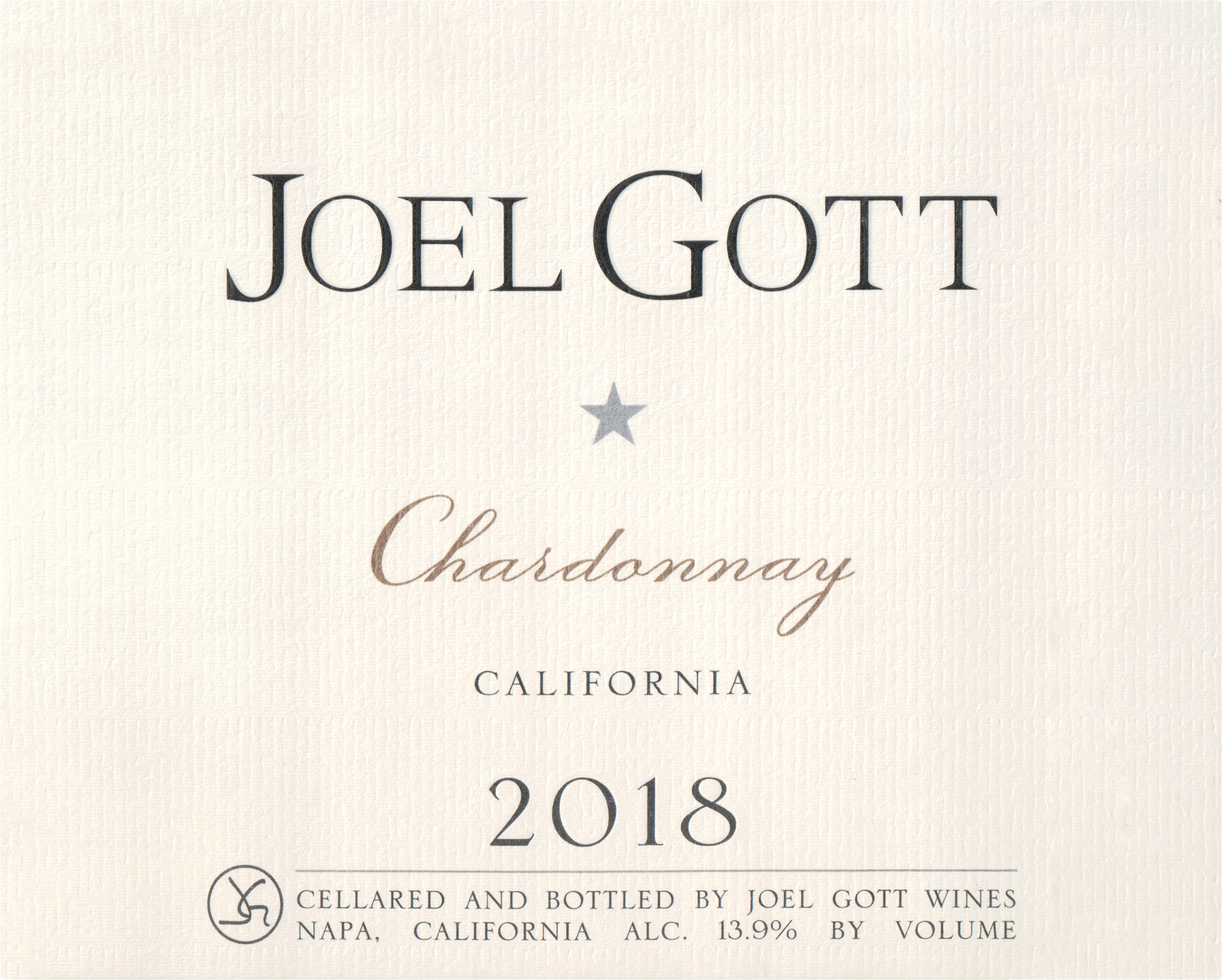 Joel Gott Chardonnay Monterey 2018