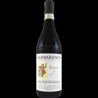 Bottle shot for 2015 Produttori Del Barbaresco Riserva Rabaja