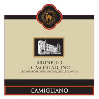 Label shot for 2015 Camigliano Brunello Montalcino