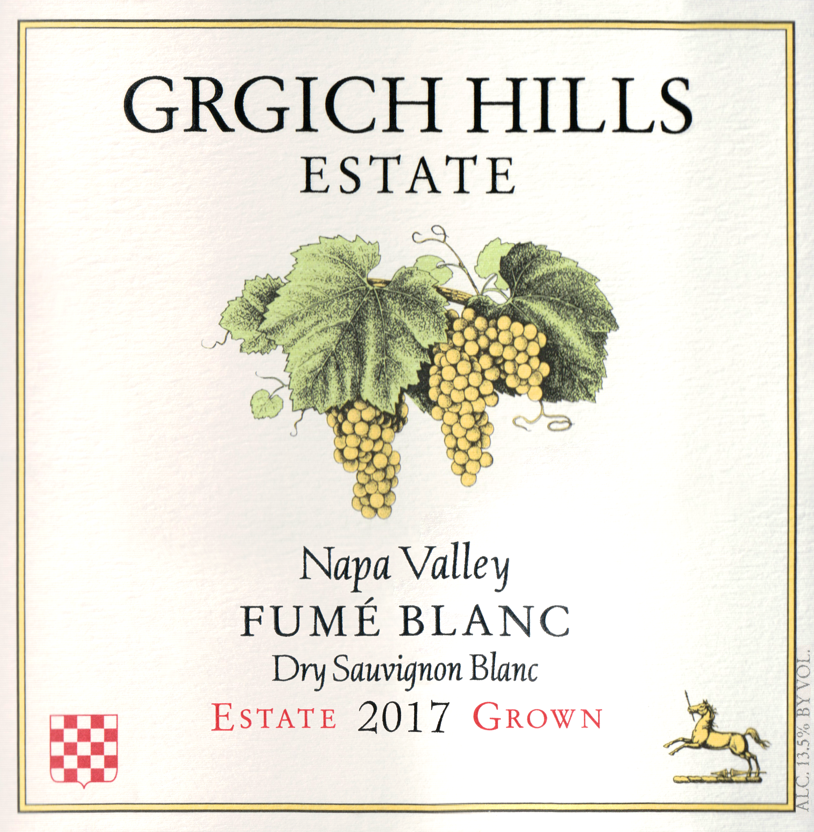 Grgich Hills Fume Blanc 2017