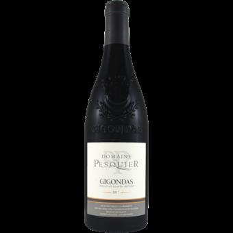 Bottle shot for 2017 Domaine Du Pesquier Gigondas