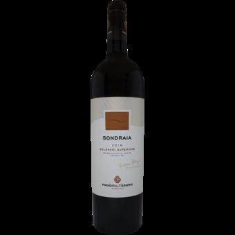 Bottle shot for 2016 Poggio Al Tesoro Sondraia