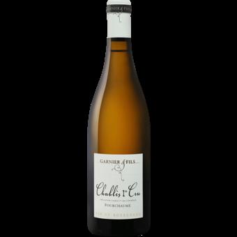 Bottle shot for 2016 Garnier Chablis 1er Cru Fourchaume