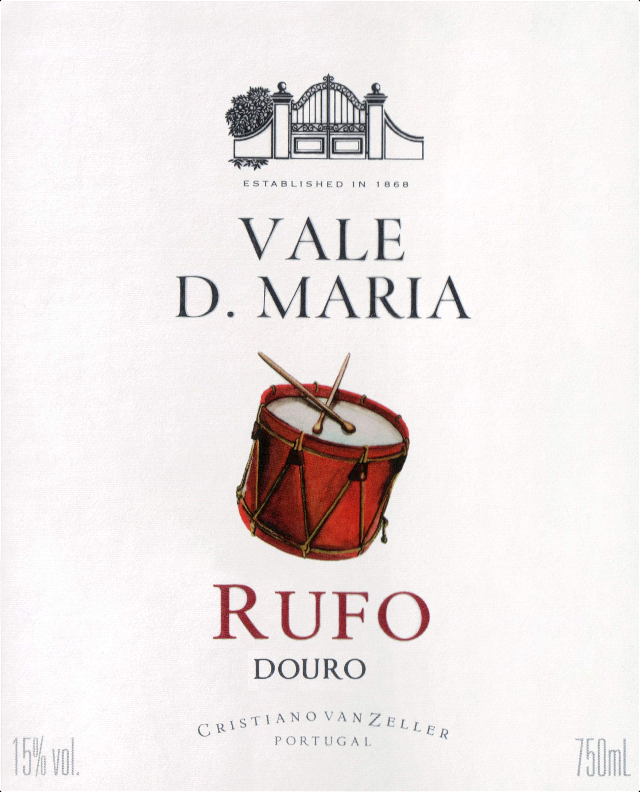 Quinta Vale Dona Maria Rufo Touriga Nacional & Touriga Franca 2016