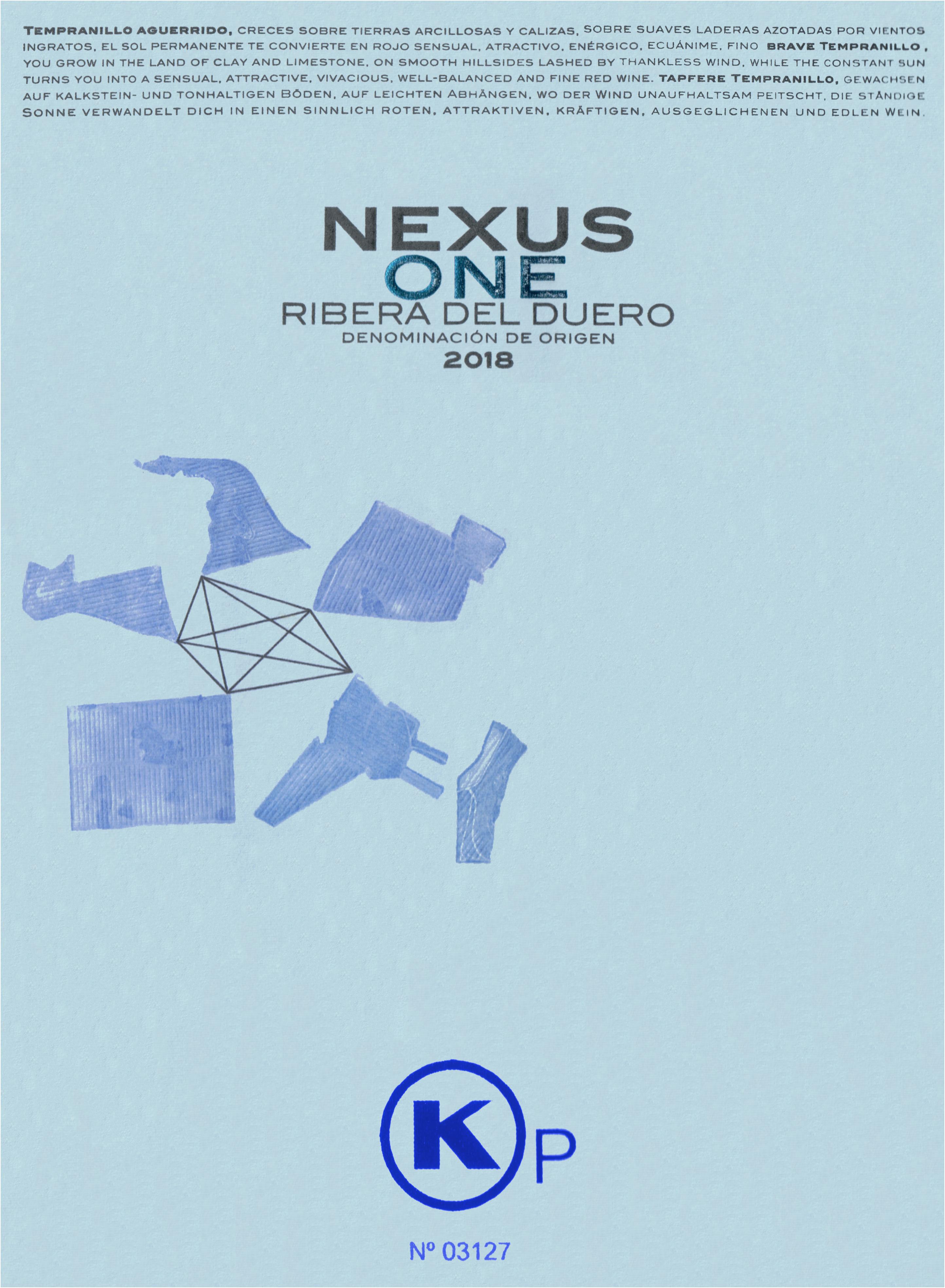 Bodegas Nexus Ribera Del Duero One (K)P 2018