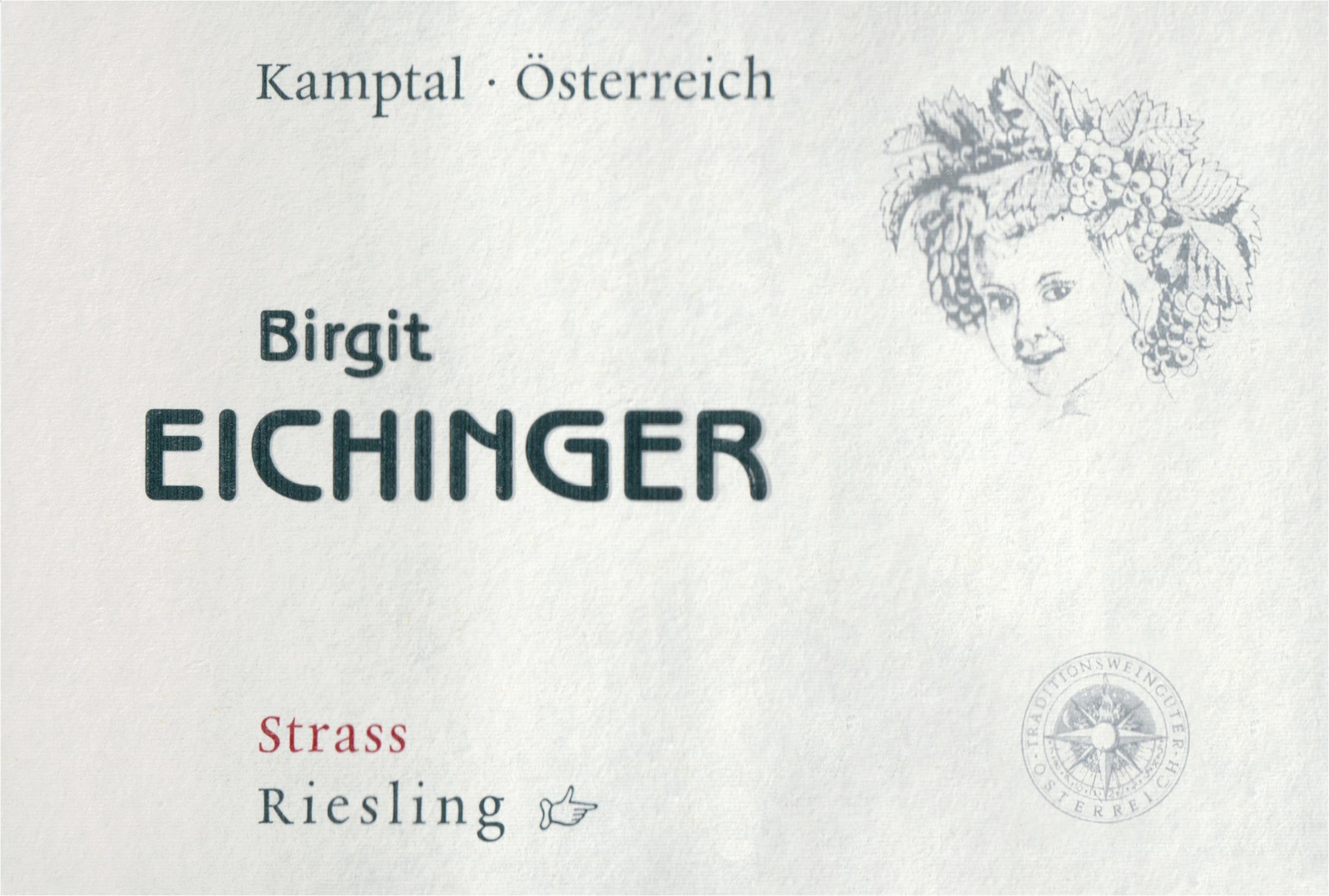Birgit Eichinger Riesling Strass 2018