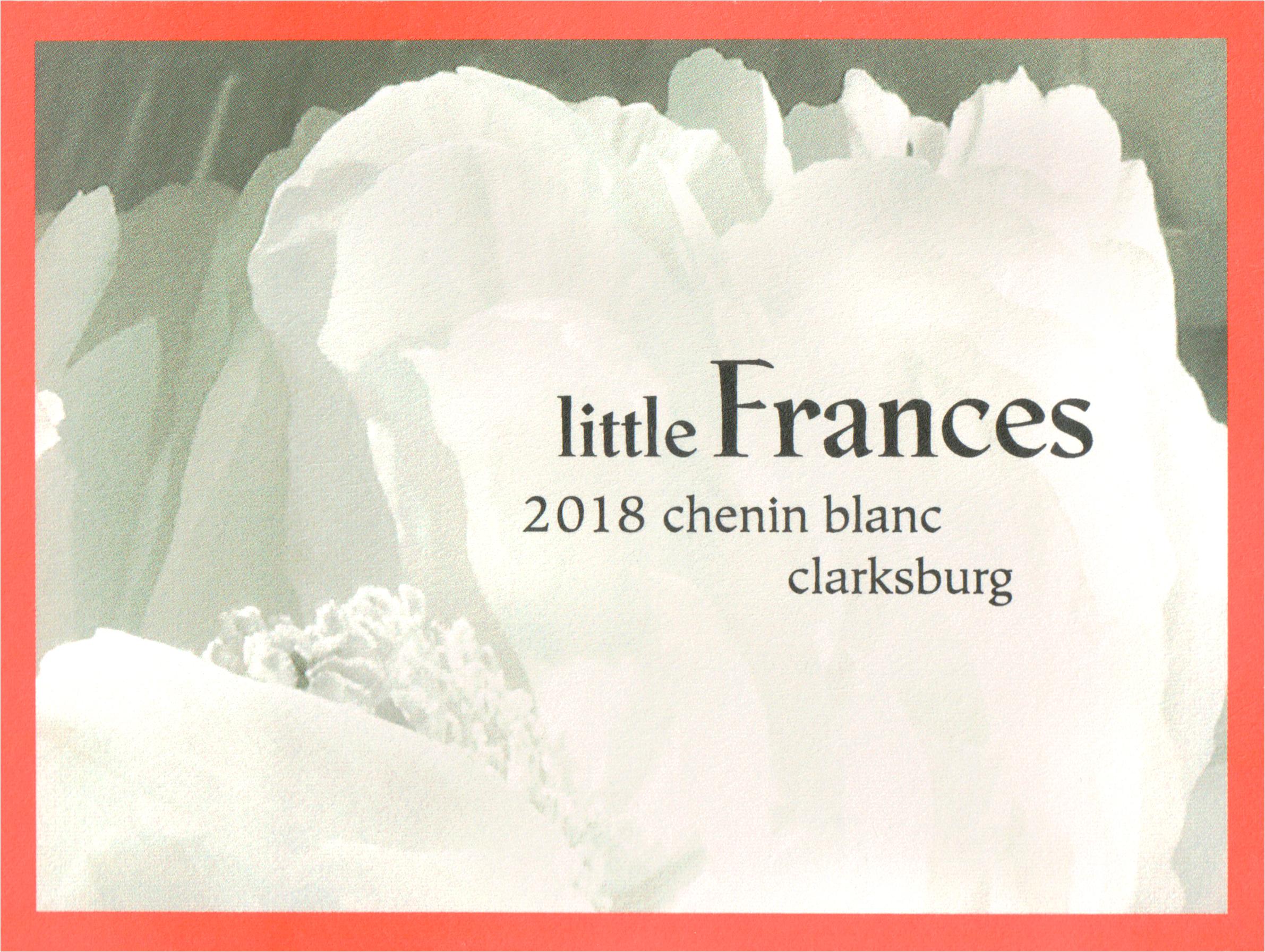 Little Frances Chenin Blanc Clarksburg 2018