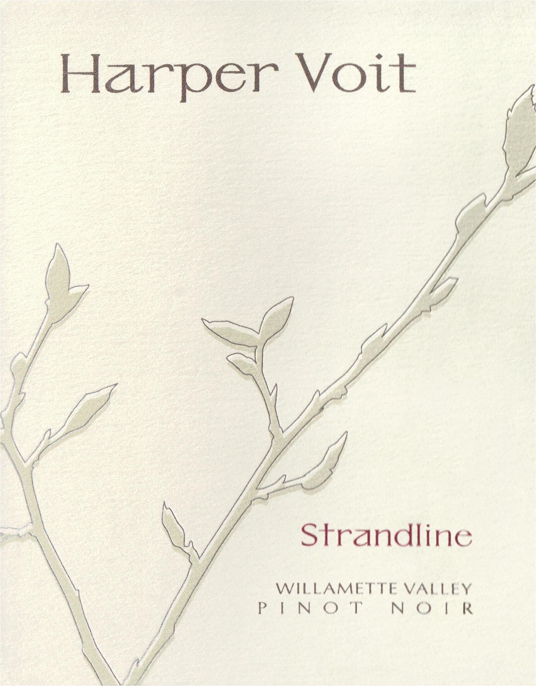 Harper Voit Pinot Noir Strandline 2016