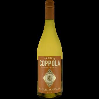 Bottle shot for 2018 Coppola Diamond Chardonnay