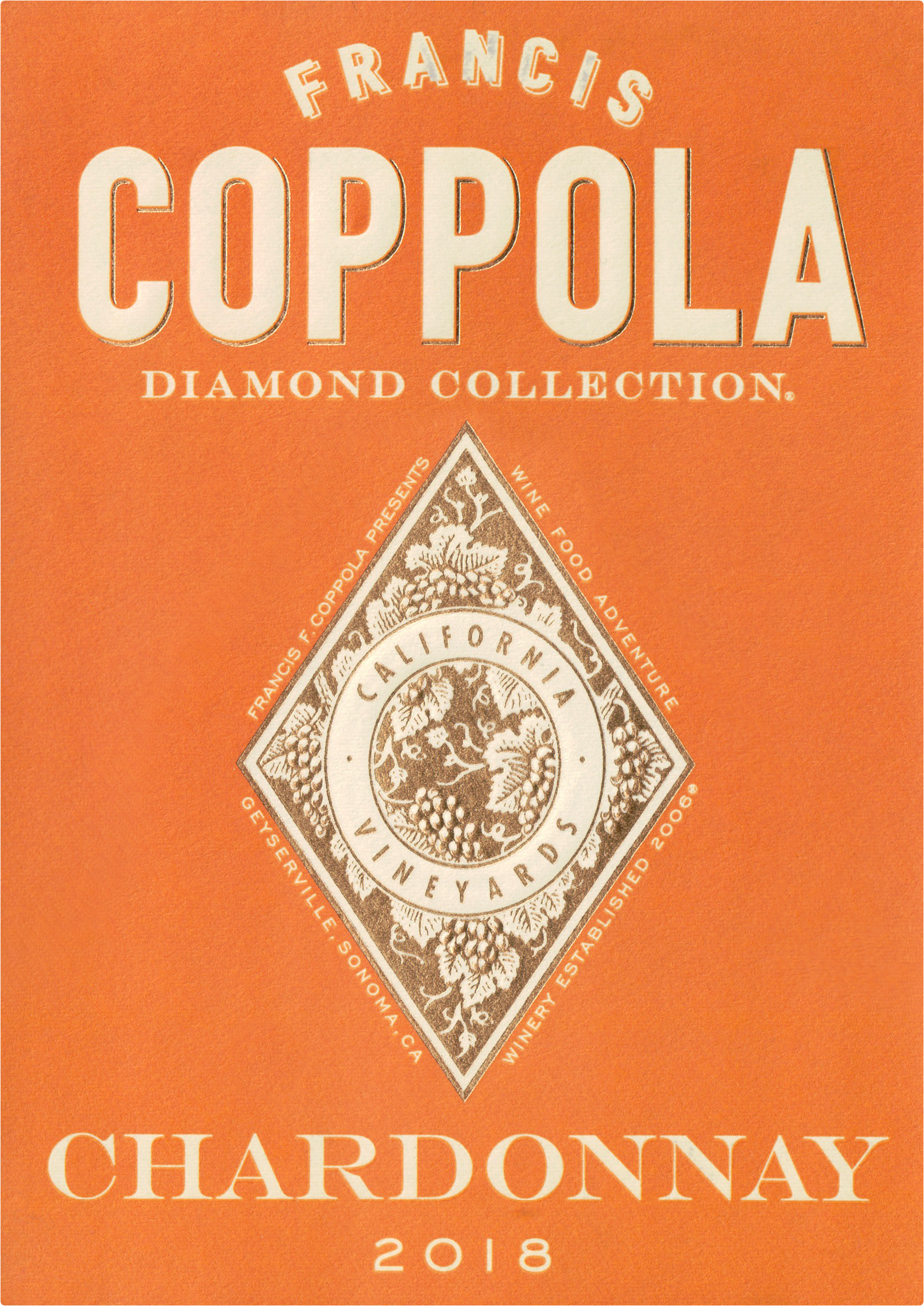 Coppola Diamond Chardonnay 2018