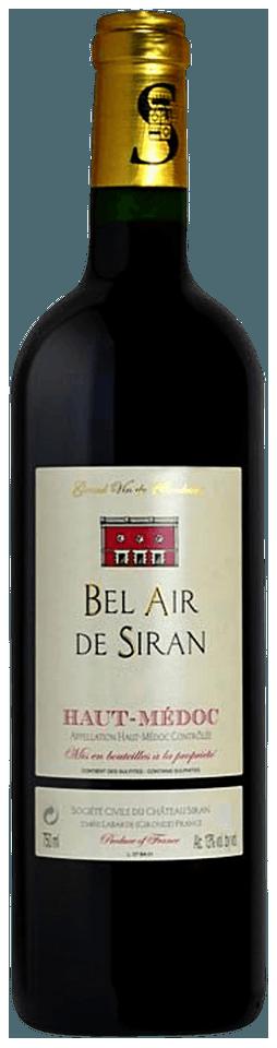 Bel Air De Siran Haut Medoc 2008
