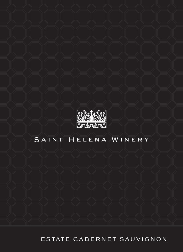 Saint Helena Winery Estate Cabernet Sauvignon Napa Valley 2012