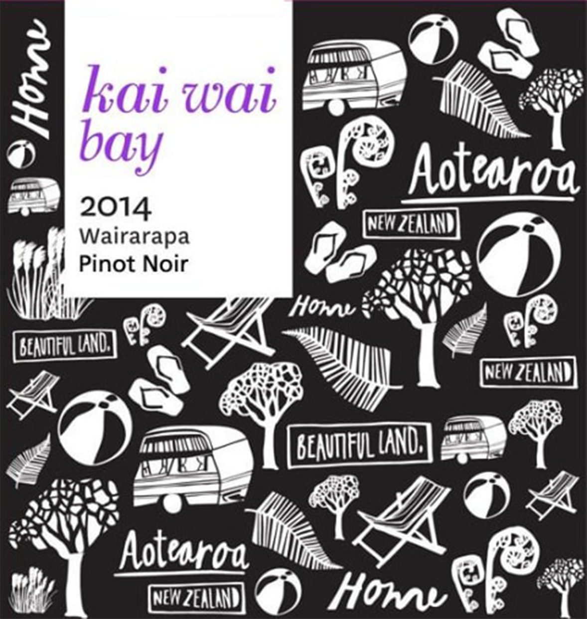 Kai Wai Bay Wairarapa Pinot Noir 2014