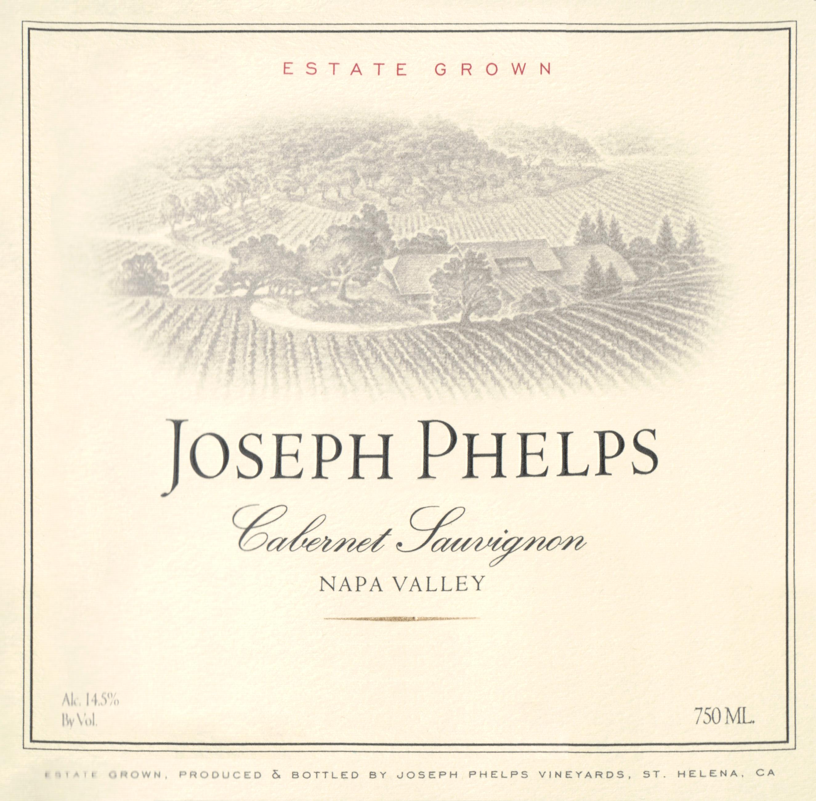 Joseph Phelps Cabernet Sauvignon 2017