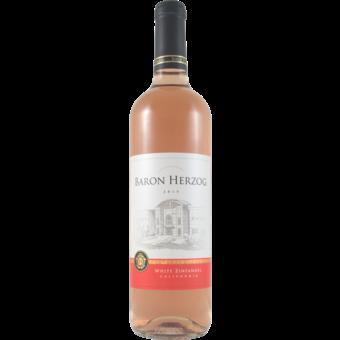 Bottle shot for  Baron Herzog White Zinfandel