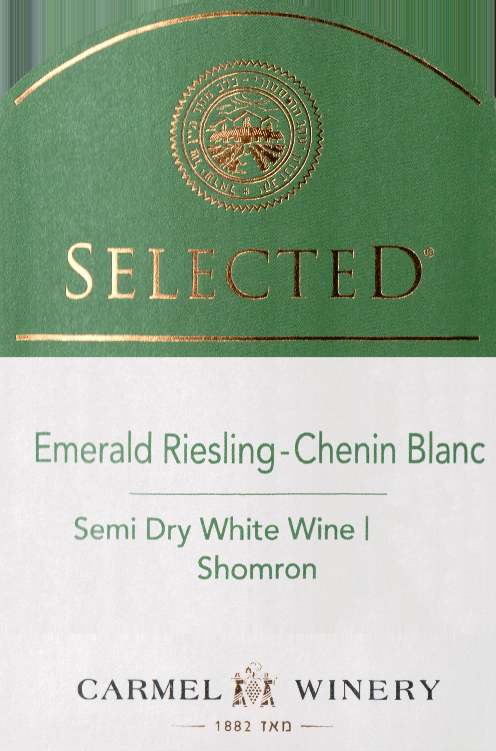 Carmel Selected Emerald Riesling Chenin Blanc